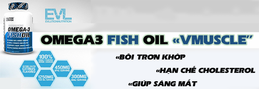 EVL Omega 3 fish oil